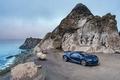 Картинка море, утёс, гиперкар, Chiron, бугатти, небо, Bugatti