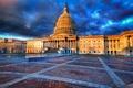 Картинка Capitol, Вашингтон, HDR, небо, США