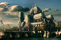 Картинка fantasy, art, buildings, cityscapes