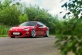 Картинка Car, Red, Sport, Summer, Nature, Road, FR-S, Scion