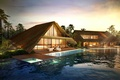 Картинка вечер, Luxury Villas, Thailand, бассейн, вилла