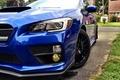 Картинка синий, Subaru, blue, субару, sti, сти, wrx sti, 2015, субаро, новая модель
