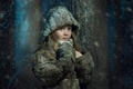 Картинка зима, снег, девочка, Соня