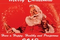 Картинка открытка, Санта, Coca-Cola