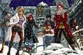 Картинка снег, девушки, аниме, арт, парни, Fairy Tail, Сказка о хвосте феи, Erza Scarlet, Juvia Loxar, ...