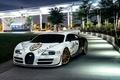 Картинка New York, Supersport, NYC, Veyron, Bugatti, Spoiler, White, Front, Pur Blanc