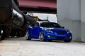 Картинка Hyundai, Coupe, blue, tuning, train, Genesis