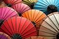 Картинка Краски, радуга, цвета, палитра, зонты