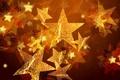 Картинка звезды, золото, праздник