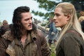 Картинка Fantasy, Nature, Sky, Men, The, Wallpaper, Blonde, Orlando Bloom, Legolas, The Hobbit, Weapons, Elf, Movie, ...