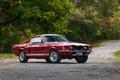 Картинка фон, Mustang, Ford, Shelby, GT500, Форд, Мустанг, Muscle car, Мускул кар, Шелби, with LeMans stripes ...