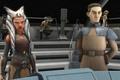 Картинка animated series, Асока, командер Сато, Star Wars: Rebels, Звездные войны: Повстанцы