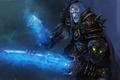 Картинка оружие, взгляд, варкрафт, рыцарь смерти, WoW, клинок, World of Warcraft, Death Knight, art, меч