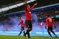 Картинка Футбол, Манчестер Юнайтед, Гол, Football, Robin van Persie, Manchester United Football Club, Спорт, Робин ван ...
