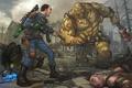 Картинка behemoth, art, super mutant, super mutant behemoth, bethesda, chinese assault rifle, 101, fallout 3