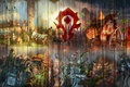 Картинка Сильвана, horde, орк, world of warcraft, undead, тралл, Громовой утес, Vol'jin, Thrall, Таурен, Лортемар Терон, ...