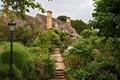 Картинка фонарь, Tewkesbury, природа, фото, сад, кусты, Англия