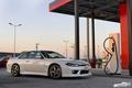 Картинка nissan, white, wheels, japan, jdm, tuning, silvia, s15, low, stance, datsun