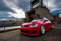 Картинка mk7, Red, golf, Avant Garde, Volkswagen, Wheels