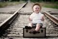 Картинка настроение, мальчик, железная дорога
