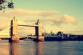 Картинка тауэрский мост, мост, великобритания, свет, лондон, город, темза, цвета, вода, солнце, небо, река