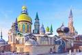 Картинка здание, архитектура, Татарстан, город Казань, храм всех религий, толерантность