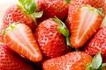 Картинка ягоды, макро, клубника