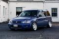 Картинка honda, tuning, vtec, japan, blue, face, white, wheels, front, mugen, hr-v, hrv, stance, jdm