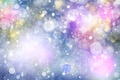 Картинка звёздочки, сияние, снежинки