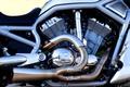 Картинка трубы, рама, Harley Davidson, хром, мотор