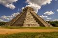 Картинка майя, Чичен-Ица, Мексика, Chichen Itza, пирамида