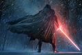Картинка The, Dark, Kylo Ren, Force, Sword, StarWars, Wallpaper, Fantasy, Laser, Walt Disney Pictures, Star Wars: ...