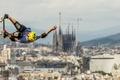 Картинка спорт, фон, прыжок