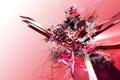 Картинка Розовый, линии