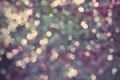 Картинка огоньки, мягкие цвета, свечение