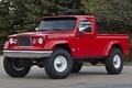 Картинка Jeep, j-12, concept, джип, концепт, красный, внедорожник, пикап