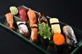 Картинка водоросли, рыба, икра, food, rolls, sushi, суши, fish, роллы, морепродукты, сервировка, Japanese, Японская кухня