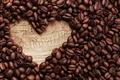 Картинка love, heart, кофе, beans, coffee