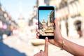 Картинка Берн, my planet, cyberspace, travel, smartphone, wallpaper., боке, размытость, фотосъемка, старый город, вид центр, technology, ...