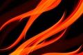 Картинка пламя, краски, линии, огонь