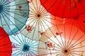 Картинка цвет, фон, зонты