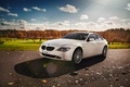 Картинка бмв, BMW, белая, e63