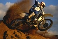 Картинка Земляной демон, dirt bike, грязь