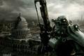 Картинка Fallout 3, город, руины