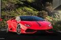 Картинка Lamborghini Huracan, red, car