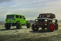 Картинка Track, Wrangler, Function, Black, Jeep, Forged, Green, Custom, Wheels, ADV1