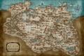 Картинка tes, карта, the elder scrolls, skyrim, скайрим
