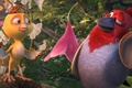 Картинка vegetation, Rio 2, Pedro, movie, Nico, trees, cariocas, infatil, flower, Rio, feathers, drawing, canary, samba, ...