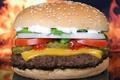 Картинка сыр, булки, томаты, гамбургер, котлета, лук