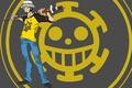 Картинка pirate, doctor, One Piece, oriental, asiatic, asian, Trafalgar, tatoo, katana, Trafalgar D. Water Law, japanese, ...